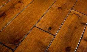 Commercial Floor Services Installs Wood