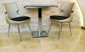 Commercial Floor Services Installs Stone and Ceramic Tile