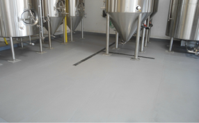 Brewery Seemless Flooring