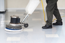 Hard Commercial Floor Maintenance